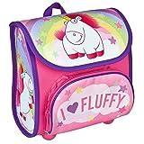 Scooli Vorschulranzen Cutie, Fluffy, Kinder-Rucksack, 23 cm, 4,5 L, Pink