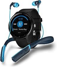 Garmin Vivoactive 3 Music Smartwatch con GPS, Nero + Skullcandy Method Sport Cuffie Bluetooth