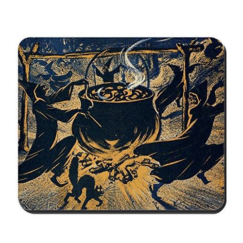 intage-Halloween-Hexen-Design, Rutschfest, Gummi ()