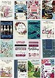 30sortierte Design Geburtstag Grußkarten–Ein Aufdruck Englisch Großhandel von gemischt Pack