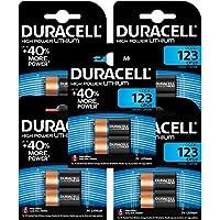 5 = 10 2 X CR123 123A CR123A DL123 Duracell-Pile Alcaline-DURALOCK piles au Lithium pour appareil Photo 3 V