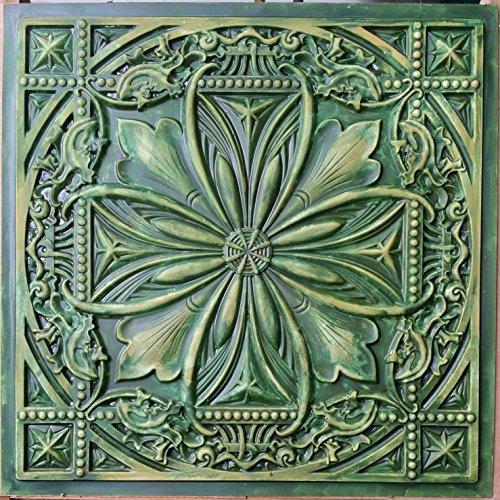 pl10-lata-sintetica-3d-relief-techo-azulejos-anos-verde-amarillo-cafe-pub-shop-paneles-de-pared-art-