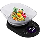 MCP Weighing Scale Digital for Kitchen Stainless Steel Household Electronic Food Weight Machine Kitchen Scale 5 kgs with Free