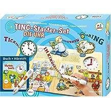 Ting-Starterset Die Uhr. Uhrenbuch + Hörstift: Über 300 Hörerlebnisse (TING - Spielen, Lernen, Wissen)