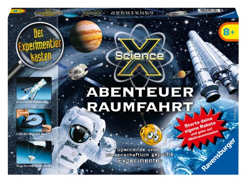 Ravensburger 18879 - Sciencex, Abenteuer Raumfahrt - Experimente
