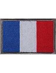 Patch Tactique Brodé KL Drapeau Patch Militaire / Moral Pour la France - par xhorizon
