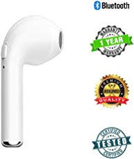 HBQ-i7 in-Ear Wireless Bluetooth Music Earphone Bluetooth V4. 1 + EDR with 1 Connect 2 Function Support Handfree Call for iOS, Android (White)