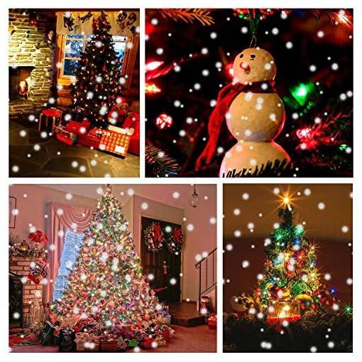 Proiettore Luci Natale Giardino.Proiettore Neve Natale Lovebay Proiettore Fiocchi Neve Proiettore