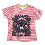 Buzzy Baby-Boys' Cotton T-Shirt (Red,6-9...