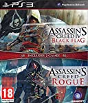 Includes 2 Full Games Assassin's Creed IV Black Flag and Assassin's Creed Rogue