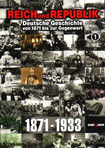 Deutsche Geschichte von 1871 bis zur Gegenwart: Teil 1-9 (3 DVDs)