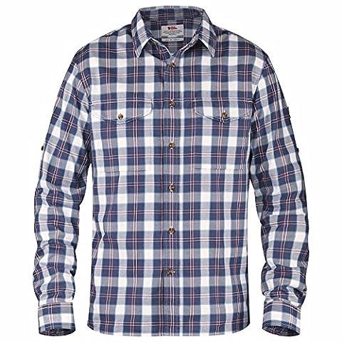 Fjällräven T-shirt singi Flannel LS oberhemd XXXL Bleu Uncle