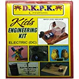 birthday gift Engg kit for kids under 12 years . 5 experiments with instructions in hindi