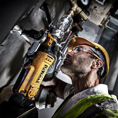 The only flaw with this tool is the trigger action which sometimes can cause hand discomfort. Apart from that, the DeWalt DWE315KT 300W Oscillating Multi-Tool is such a remarkable, powerful oscillating multi-tool with several attachments for various jobs.