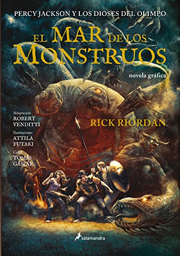 El mar de los monstruos: Percy Jackson y los Dioses del Olimpo II (Novela Gráfica) por Rick Riordan
