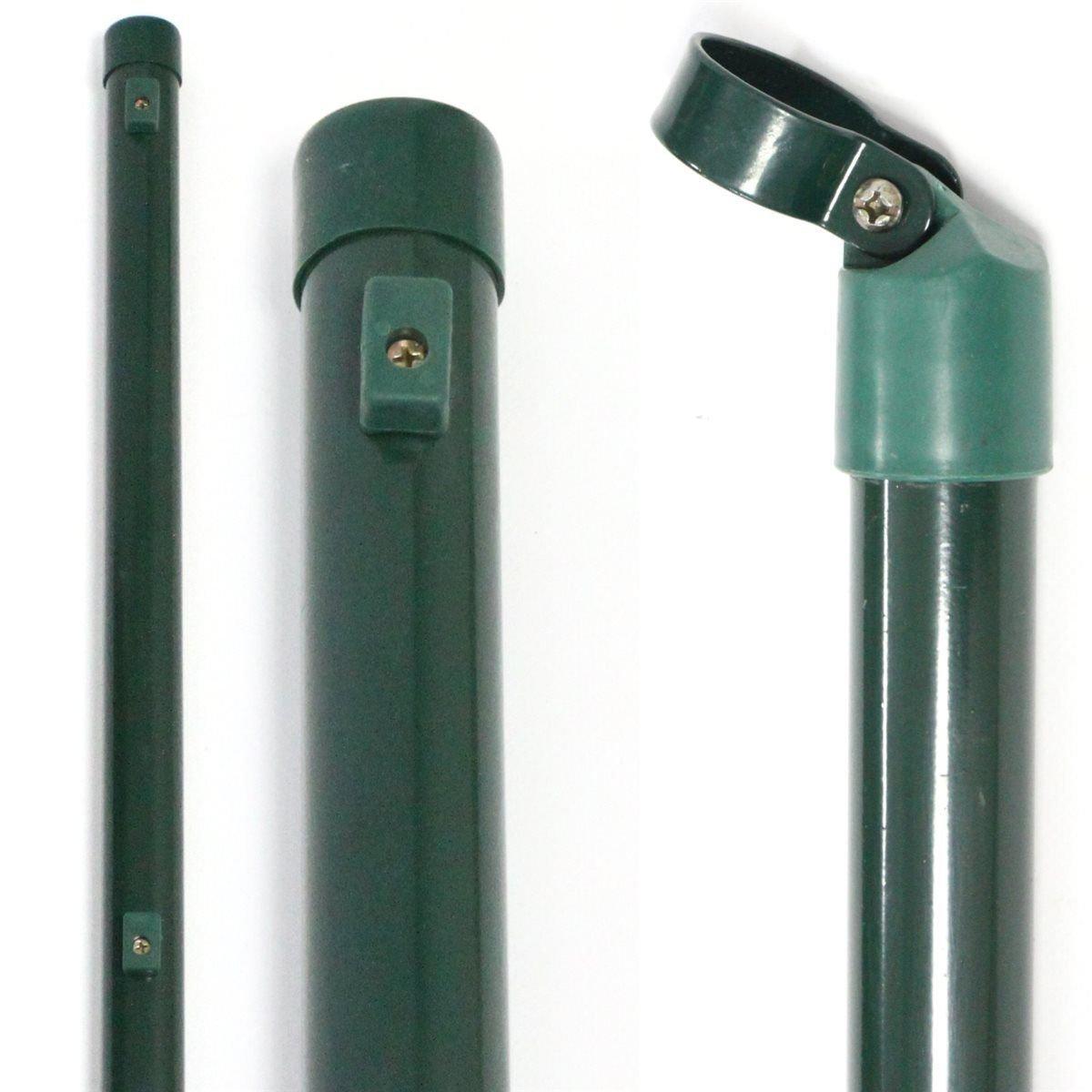 Zaunpfosten 34 mm oder Zaunstreben Größe wählbar kostenloser