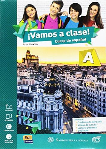 Vamos a clase. Vol. A-B. Con Lectura A-B-Extrakit. Per la Scuola media. Con CD-ROM. Con DVD-ROM. Con e-book. Con espansione online