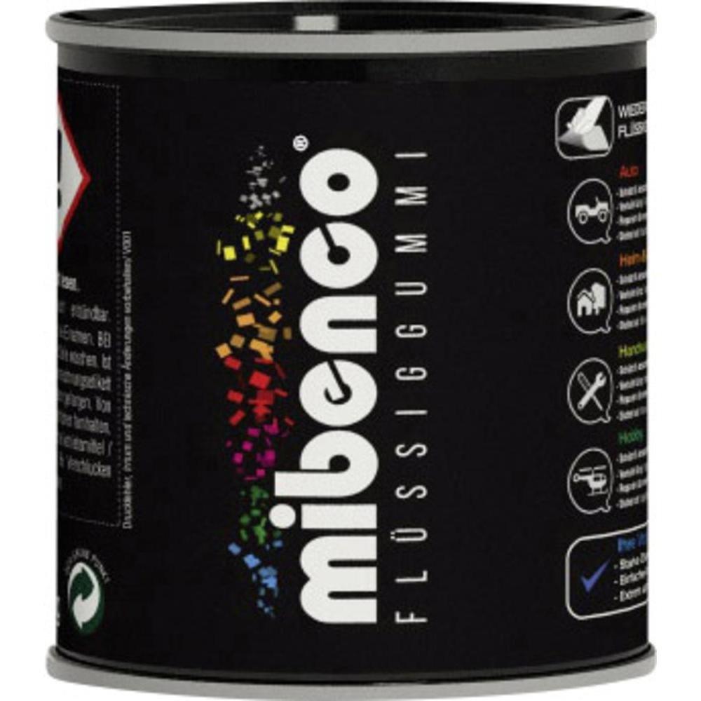 Mibenco 72829005 flüssiggummi pur, 175 g, schwarz matt   schutz ...