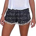 Minetom Femmes Sexy Shorts Polka Dot...