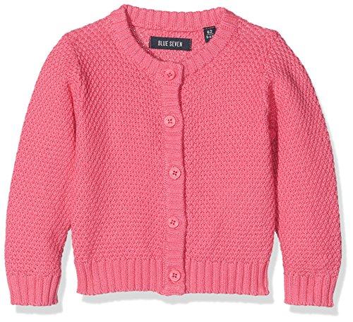 BLUE SEVEN Baby-Mädchen Strickjacke 960008 X, Rosa (Pink Orig 429), 86 (Mädchen Strickjacke Pullover)