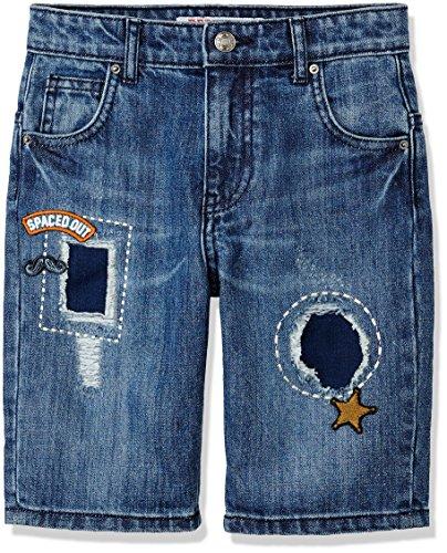 ches and Badge Shorts, Blau (Multi), 146 (Herstellergröße: 11 Jahre) (Elf Shorts)