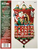 Bucilla Must Be Santa Advent Calendar Felt Applique Kit