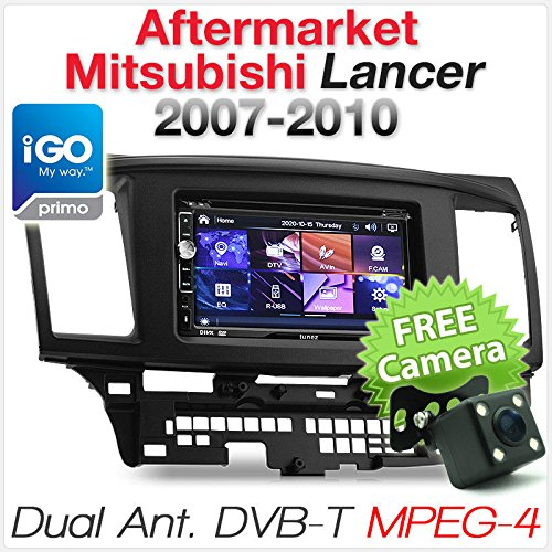 Tunez Mitsubishi Lancer CJ Auto GPS DVD Player Stereo Radio MP3 CD DVB-T MPEG-4 TV