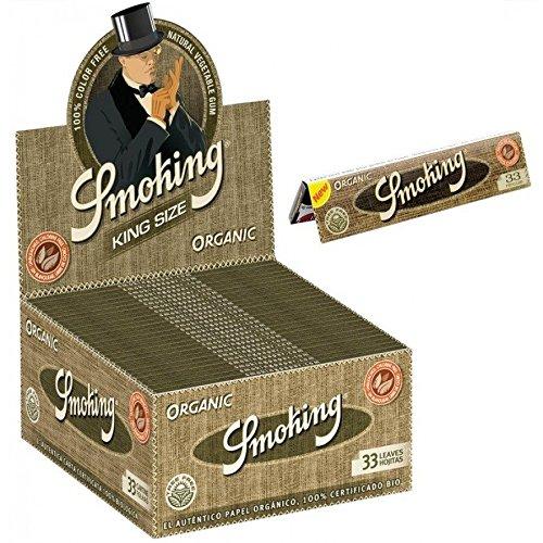 Smoking Zigarettenpapier Kingsize aus Bio-Hanf (Bio-health-bars)