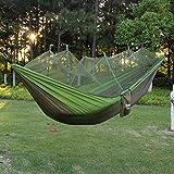 PSKOOK Camping Hängematte mit Moskitonetz Ultraleichte...