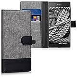 kwmobile Sony Xperia L1 Hülle - Kunstleder Wallet Case für Sony Xperia L1 mit Kartenfächern und Stand