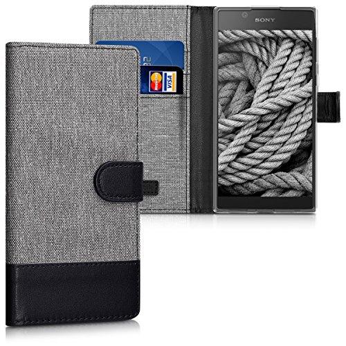 sony xperia l1 handyhlle premium leder standfunktion kartenfach magnetverschluss pu schlanke leder brieftasche fr sony xperia l1