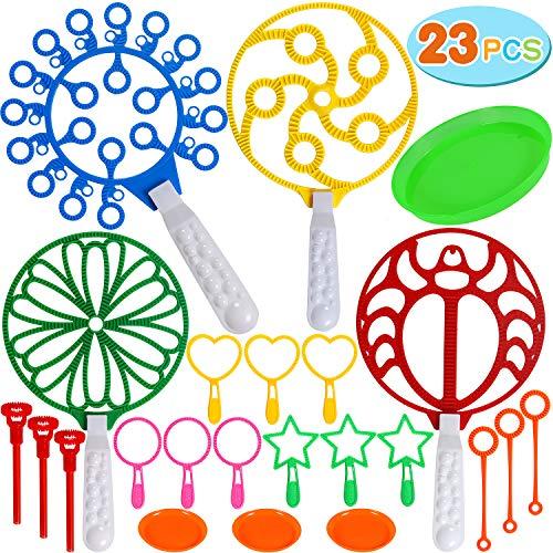 Tacobear 23piezas Burbujas jabón Niños Pompas jabón