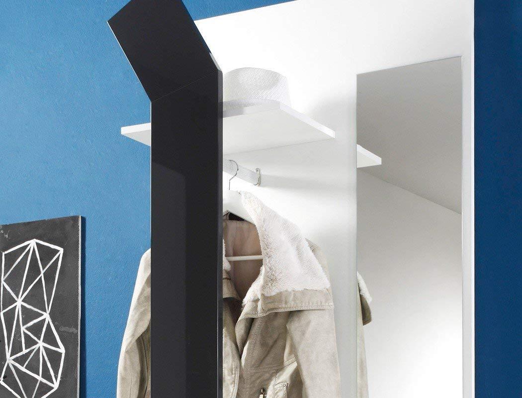 expendio Smart Garderobe, MDF/Spannplatte, weiß, 33 x 75 x 200 cm