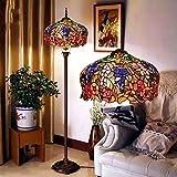 Uncle Sam LI- European Senior Glasmalerei Lampen Cafe Retro Wohnzimmer Stehleuchte Schlafzimmer Lampe kreative
