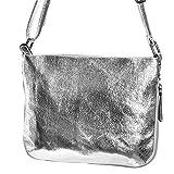 handtasche silber klein silber umhängetasche klein silber Schultertasche kleine Tasche TPUMK01