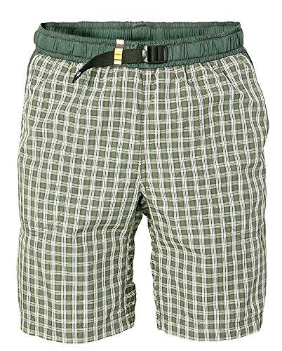 erren Moth Shorts Boulderhose für Damen und Herren - Outdoorhose für bewegungsfreies Bouldern, Klettern, Trekking, Wandern (Grau, L) ()