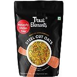 True Elements Steel Cut Oats 1kg - Gluten Free Oats, Whole Grain Breakfast, Cereal Food