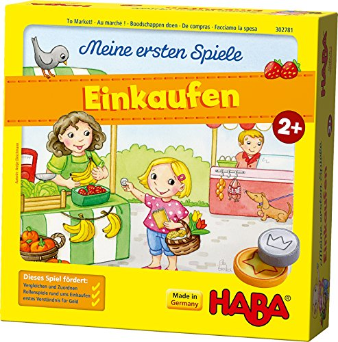 HABA 302781 Meine ersten Spiele Einkaufen