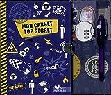 carnet top secret coffret avec accessoires interdit aux filles