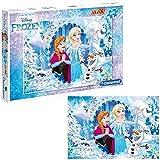 Clementoni 0625044 Frozen Maxi Puzzle, 100 Stück
