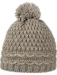 Lierys Pinea Pudelmütze für Damen Bommelmütze Damenmütze Wollmütze Herbst Winter