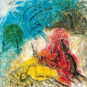 Nice - Musée national Marc Chagall - Le sacrifice d'Isaac (détail) - Carte postale 13,5 x 13,5 cm