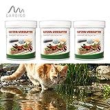 Gardigo Katzen-Verdufter 3x 300 g Granulat, Katzen-Stopp, Katzenabwehr, Katzenschreck