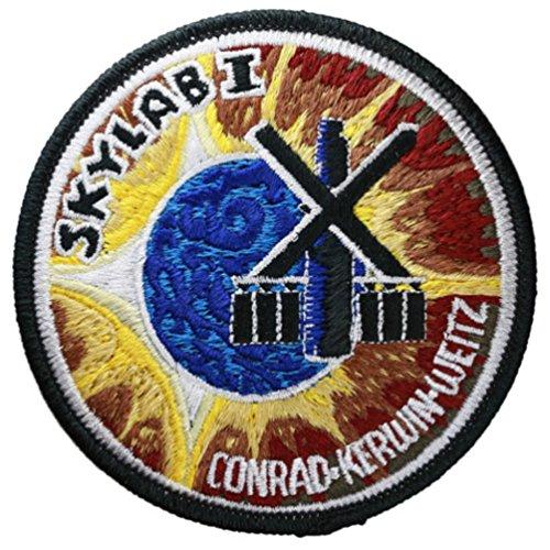Skylab 2 brodée officielle Patch (Patch) 10 cm de diamètre Environ