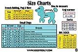 Doggy Dolly W109 Hundejacke Wasserabweisend mit Kapuze, schwarz/grau, Wintermantel/Winterjacke, Größe : XXL - 2