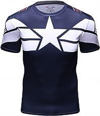 Cody Lundin Herren Mode Amerika führend Logo Runing Übung Hemd Fitness Sport Short Sleeve