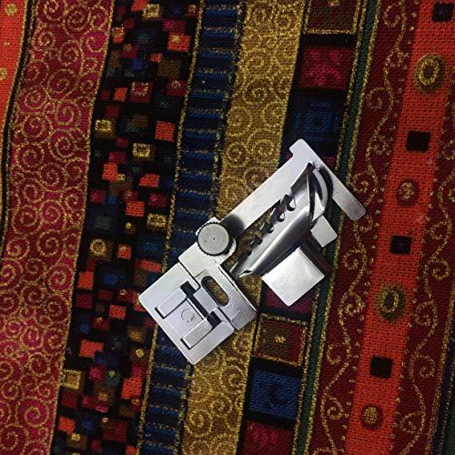 Kräuselband,/Gathering/welting Fuß, 702Presser Saum Nähfuß Fuß für Nähmaschinen Singer JANOME Kenmore Toyota 9907# 9907