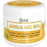 Arnica Gel 95%, 500 ml, Apaisant grâce à l'Arnica Montana, aux huile de Buriti, extraits de Sauge et de Calendula, à l'huile