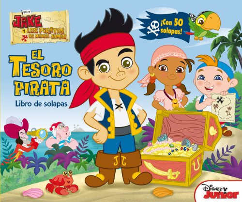 Jake y los piratas. Libro de solapas: El tesoro pirata