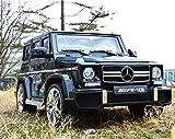 Mercedes Benz G63 AMG / Kinderauto / Bluetooth FB / Hartgummi Reifen / USB / Radio / Farbe schwarz von Mercedes-Benz Lizenz Werk